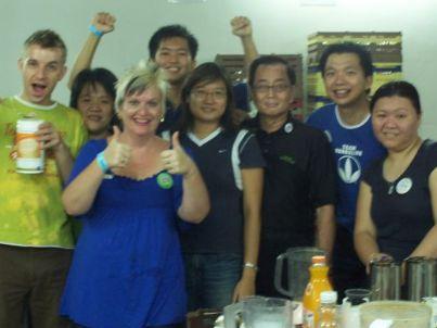 Turner-Malaysia-Herbalife-Team