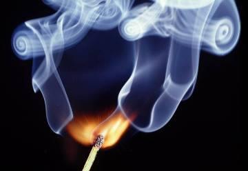 match-burning