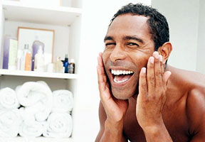 man face wash skincare