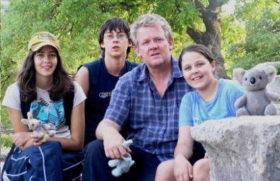 Warren Tattersall and family
