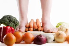 the benefits of being on a vegetarian weight loss diet plan