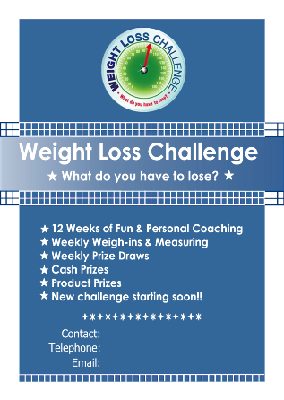 Back gallery for work weight loss challenge flyer for Weight loss challenge flyer template